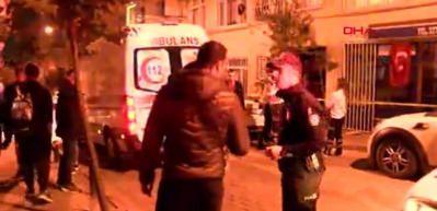 Beşiktaş'ta 4. kattan düşen yaşlı adam öldü
