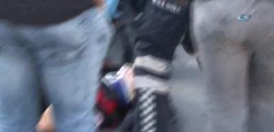 Beşiktaş'ta motorize yunus ekipleri kaza yaptı: 2 yaralı