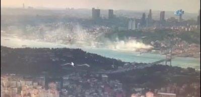 Beşiktaş'ta yangın! Dumanlar her yeri sardı