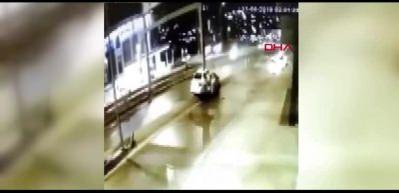 Beylikdüzü'nde 1 kişinin öldüğü korkunç kaza kamerada!