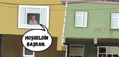 AK Parti Beyoğlu İlçe Başkanlığı'nca 'Kentsel Dönüşüm' videosu