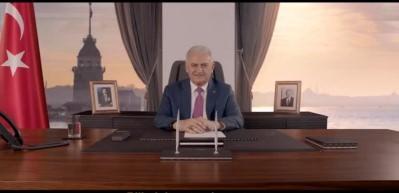 Binali Yıldırım'dan paylaşım rekoru kıran seçim videosu