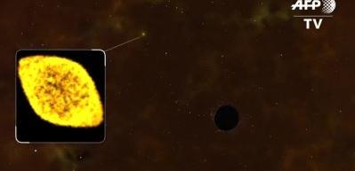 Bir kara deliğin yıldızı parçalama anı ilk kez görüntülendi