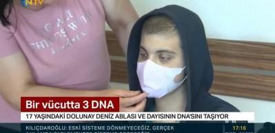 Bir vücutta 3 ayrı DNA! Türkiye'de ilk…