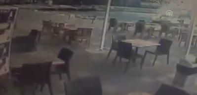 Bodrum'da hasara yol açan hortumun yeni görüntüleri ortaya çıktı