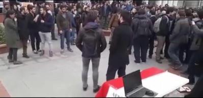 Boğaziçi Üniversitesi'nde büyük rezalet!
