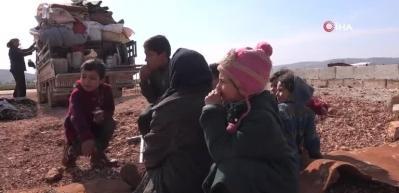 Bombardıman sürüyor, Suriyeliler kaçıyor