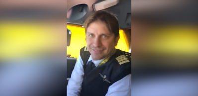 Brezilyalı pilot 18 bin fitte Müslüman oldu!