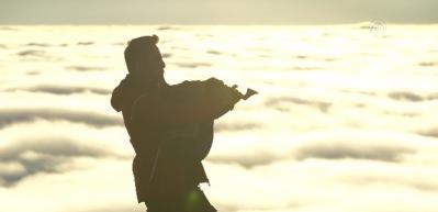 ''Bulut denizi'' için Kaçkarlar'da nöbet tutuyorlar