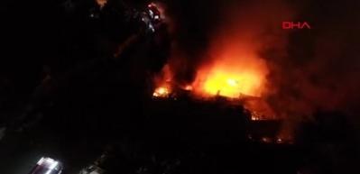 Bursa'da tüpçü dükkanında patlama