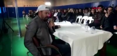 Ünlü futbolcudan 'türkü' performansı