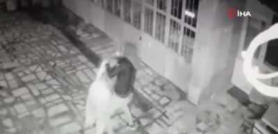 Cani evlat annesini 15 yerinden bıçakladı! O anlar güvenlik kamerasında