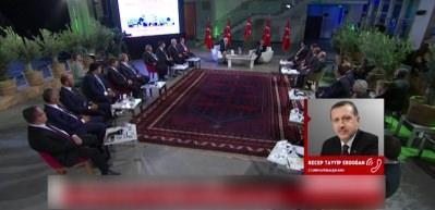 Canlı yayında Erdoğan sürprizi