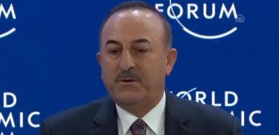 """Çavuşoğlu, """"Ortadoğu ve Afrika'nın Jeopolitik Görünümü"""" oturumuna katıldı"""