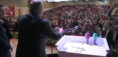 CHP kongresinde çirkin sözler sonrasında gerginlik