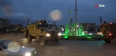Cilvegözü Sınır Kapısı'na askeri araç sevkıyatı