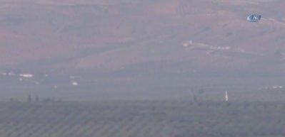Cinderes bölgesi yoğun top atışına tutuldu