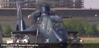 Çin'in yeni askeri helikopteri Z-19E seri üretim için hazır