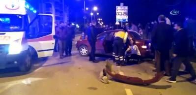 Cip ile otomobil çarpıştı: 1 Ölü 2 yaralı