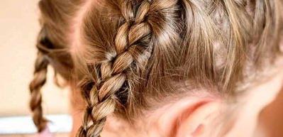 Çocuklar için evde yapılabilecek trend okul saç modelleri