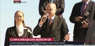 Cumhurbaşkanı Erdoğan: Az bir zaman içerisinde müjdeyi alacaksınız