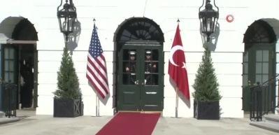 Beyaz Saray'da tarihi zirve!