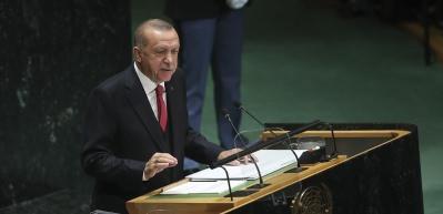 Cumhurbaşkanı Erdoğan BM'de sordu: Bu ülkenin sınırı neresidir?