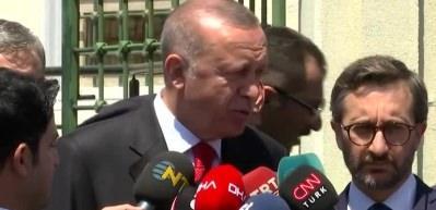 Cumhurbaşkanı Erdoğan: Hepsi tarih oldu