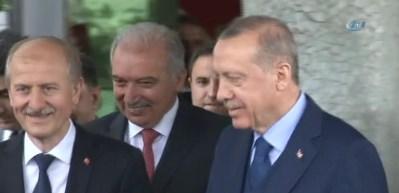 Cumhurbaşkanı Erdoğan İBB'yi ziyaret etti