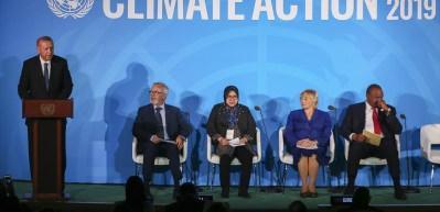 Cumhurbaşkanı Erdoğan İklim Eylemi Zirvesi'nde konuştu