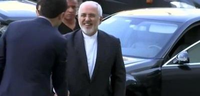 Cumhurbaşkanı Erdoğan, İran Dışişleri Bakanı Zarif'i kabul ett