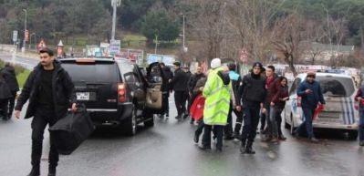 Cumhurbaşkanı Erdoğan konvoyunu iki kez durdurdu