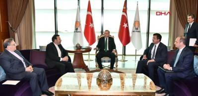Cumhurbaşkanı Erdoğan Merkez Bahkası Başkanı Çetinkaya'yla görüştü