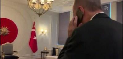 Cumhurbaşkanı Erdoğan, MHP Genel Başkanı Bahçeli'yi aradı