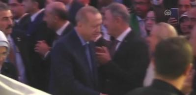 Cumhurbaşkanı Erdoğan, New York'ta coşkuyla karşılandı