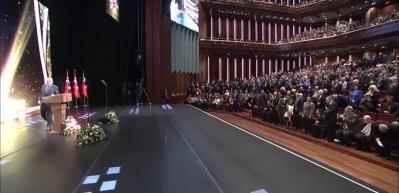 Cumhurbaşkanı Erdoğan, ödül töreninde konuştu