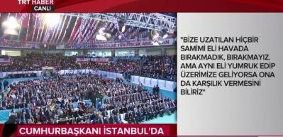 Cumhurbaşkanı Erdoğan son rakamı açıkladı!