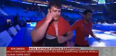 Cumhurbaşkanı Erdoğan'dan Kayaalp'e tebrik telefonu