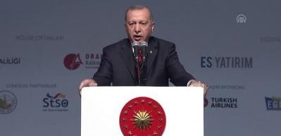 Cumhurbaşkanı Erdoğan'dan 'nükleer başlıklı füze' mesajı
