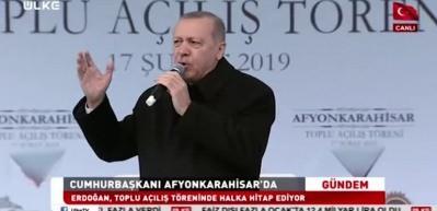 Cumhurbaşkanı Erdoğan'dan Saadet Partisi'ne imali gönderme!