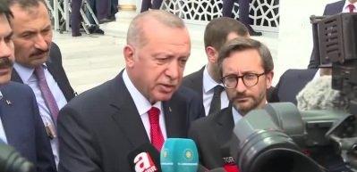 Cumhurbaşkanı Erdoğan'dan SU-57 mesajı