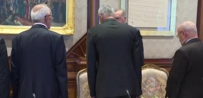 Cumhurbaşkanı Recep Tayyip Erdoğan, gazileri kabul etti