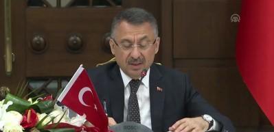 Cumhurbaşkanı Yardımcısı Oktay: Son derece önemli hususlarda mutabakata varılmıştır