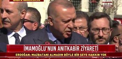 Cumhurbaşmanı Erdoğan'dan İstanbul Havalimanı açıklaması