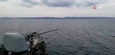 Deniz Kuvvetlerinden dikkat çeken eğitim