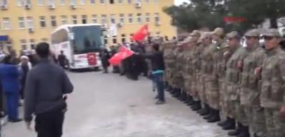 Derik'ten 30 güvenlik korucusu Zeytin Dalı Harekatı'na uğurlandı
