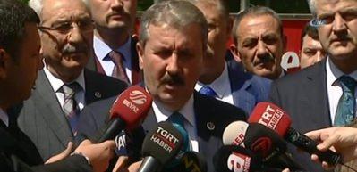 Destici'den Abdullah Gül'e çağrı