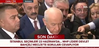 Devlet Bahçeli'den Abdullah Gül'e tepki