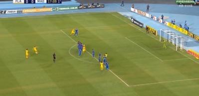 Diego Ribas'tan müthiş frikik golü