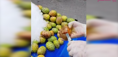 Dikenli incir nasıl soyulur ve yenir?